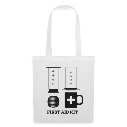 Coffee First Aid Kit - Stoffbeutel