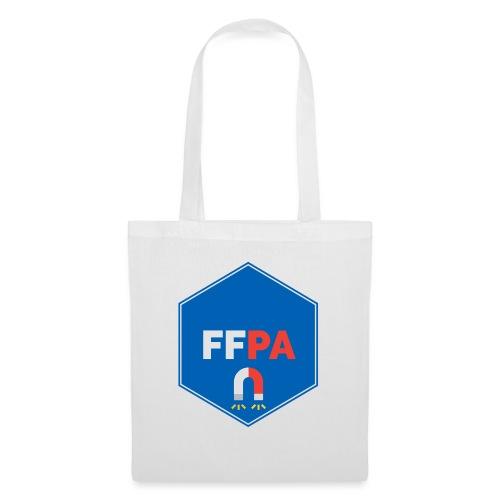 Logo de la fédé française de pêche à l'aimant - Sac en tissu