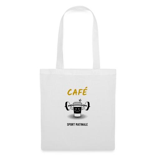 Café mon sport matinal - Sac en tissu