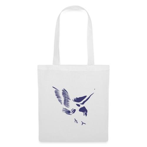 Aquila blu ed accessori - Borsa di stoffa