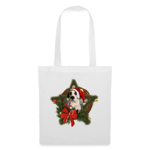 Christmas Dog - Borsa di stoffa