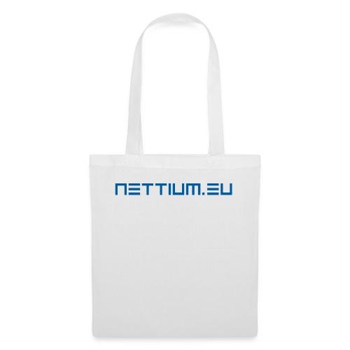 Nettium.eu logo blue - Tote Bag