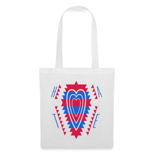 love can redblue - Tote Bag