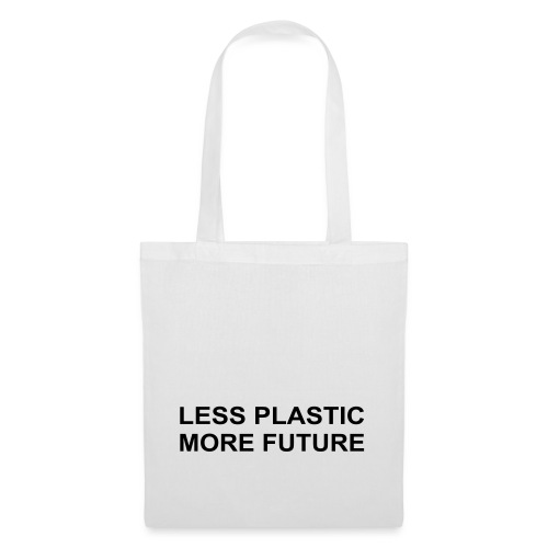 Less Plastic More Future - Stoffbeutel