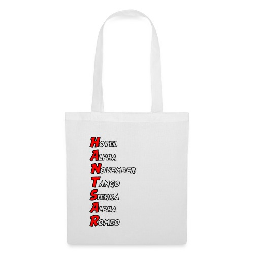 HANTSAR - Phonetic - Tote Bag