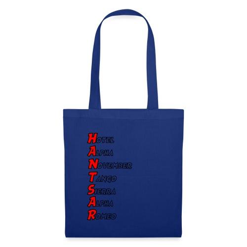 HANTSAR - Phonetic - Tote Bag