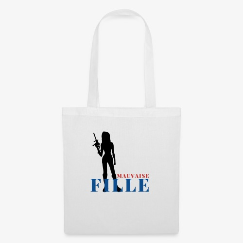 Mauvaise fille (bad girl) - Tote Bag