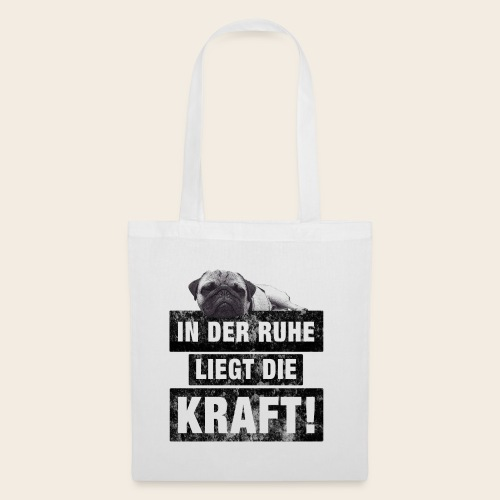 Mops Ruhe - Stoffbeutel