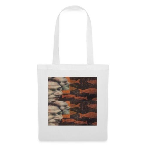 man and fish - Tote Bag