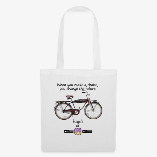 Bicycle or... - Borsa di stoffa