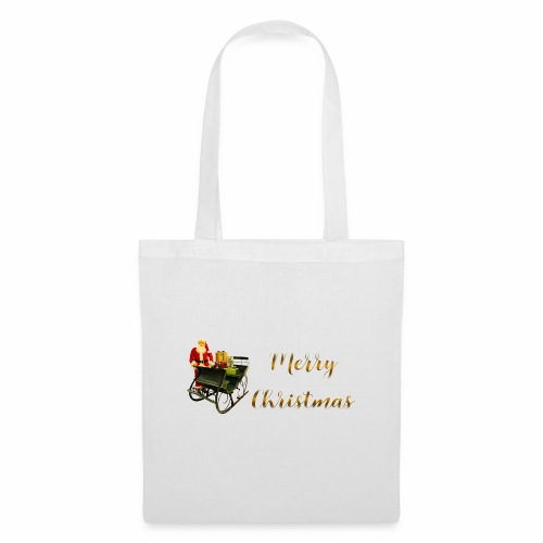Merry Christmas - Sac en tissu