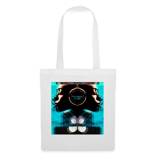 Faith in Music Blue - Tote Bag