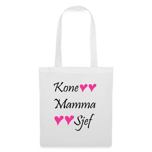 Kone Mamma Sjef - Stoffveske