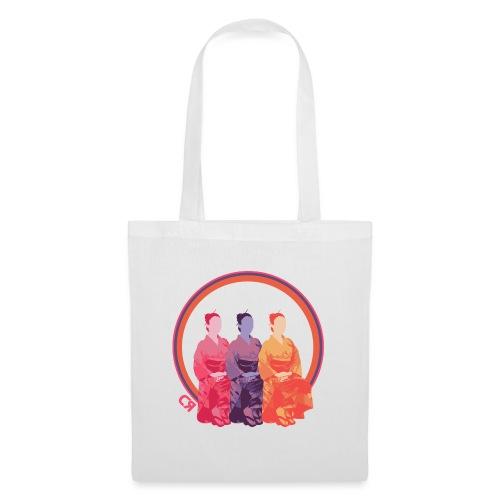 CR - Neon Kimono - Bolsa de tela
