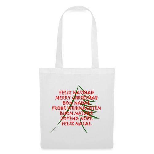 Feliz Navidad - Bolsa de tela