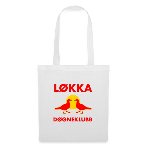 Løkkadøgneklubb - Stoffveske