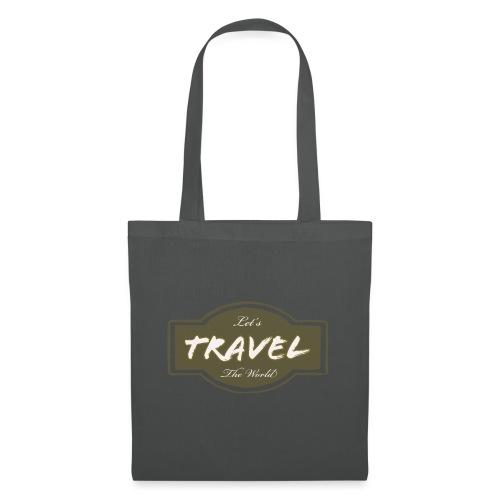 Let's Travel the World - Borsa di stoffa