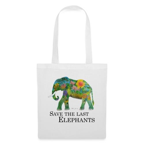 Save The Last Elephants - Stoffbeutel