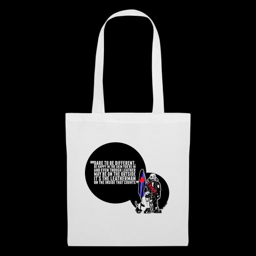 Mr Leather UK 2017 with Slogan - Tote Bag