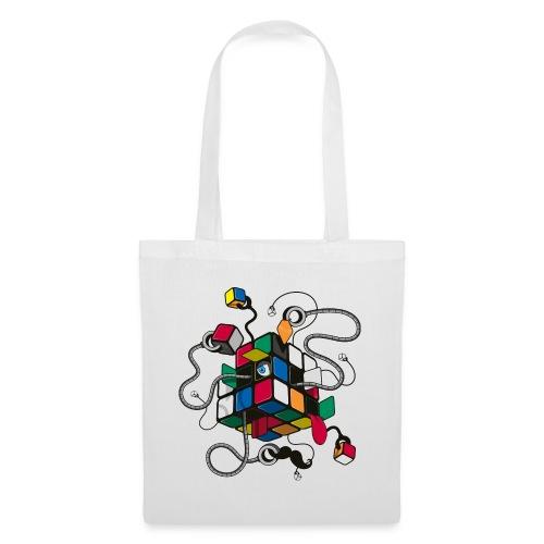 Rubik's Cube Robot Style - Tote Bag