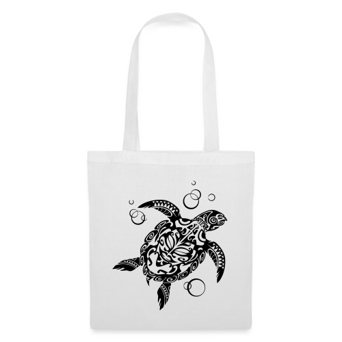 Watchful Turtle - Tote Bag