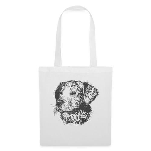 Mirada canina - Bolsa de tela