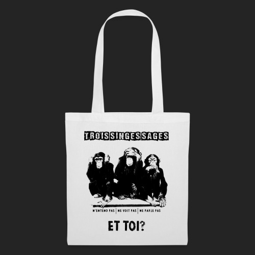 Three wise monkeys - Tote Bag