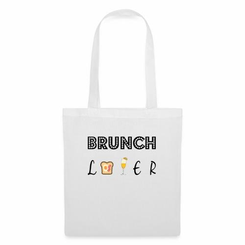 brunch lover - Bolsa de tela