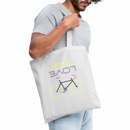 Lemon Bike - Velo Love Shirt Rennradfahrer Shirt - Stoffbeutel