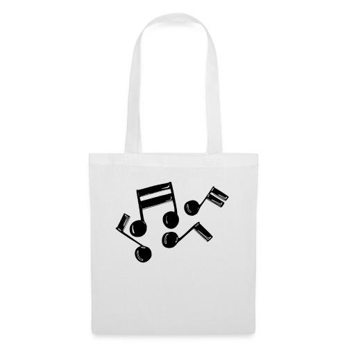 Musik Symbol Note Noten musiknoten spielen - Stoffbeutel