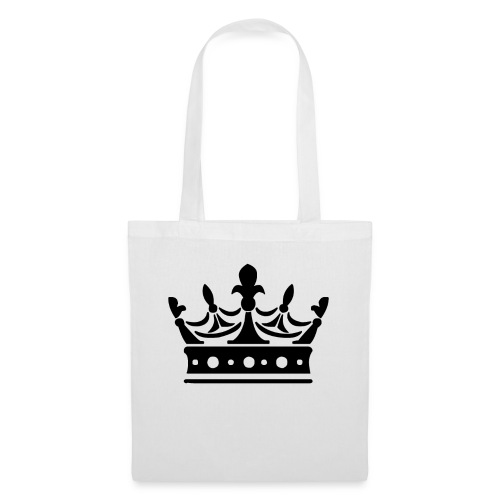 Krone Symbol König Kaiser Königin Mittelalter - Stoffbeutel