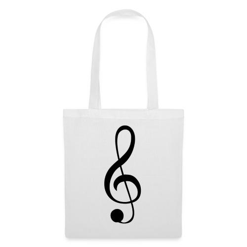 Musik Symbol Musikschlüssel Notenschlüssel - Stoffbeutel