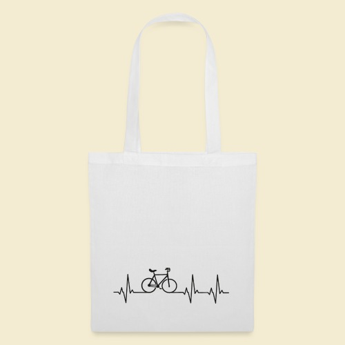 Kunstrad   Artistic Cycling   Heart Monitor Black - Stoffbeutel