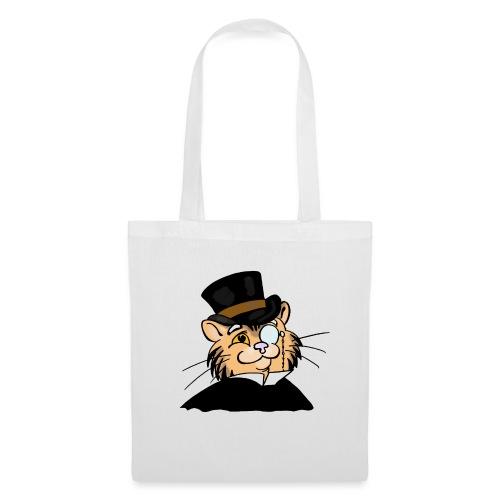 Gatto nonno - Borsa di stoffa