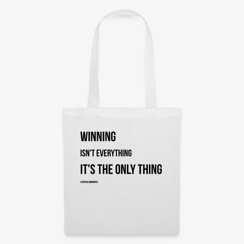 Football Victory Quotation - Tote Bag