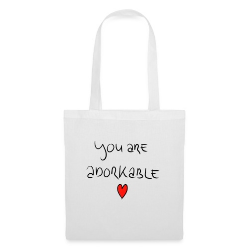 adorkable - Tote Bag