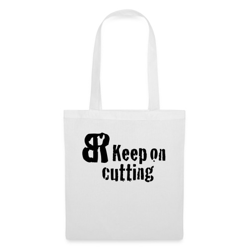 keep on cutting 1 - Stoffbeutel