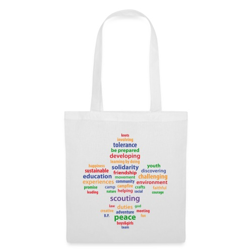 scouting is colored - Tote Bag