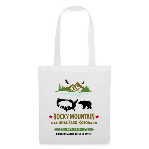 Rocky Mountain Nationalpark Berg Bison Grizzly Bär - Tote Bag