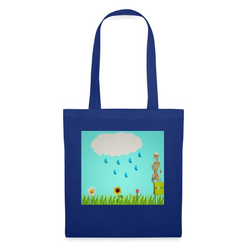 Flowers and clouds - Tote Bag