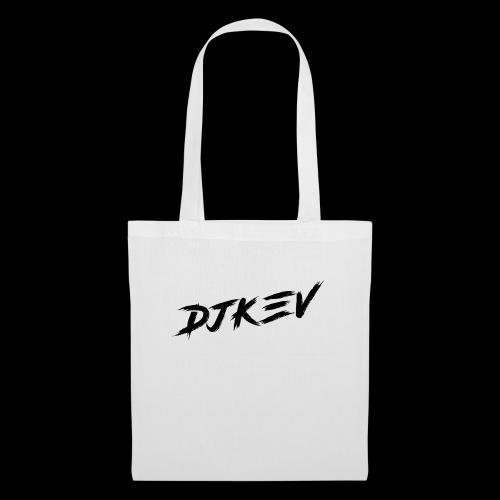 DJKEV Logo black - Tote Bag