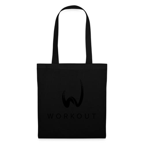 Workout mit Url - Stoffbeutel