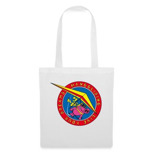 hanggliding pig - Tote Bag