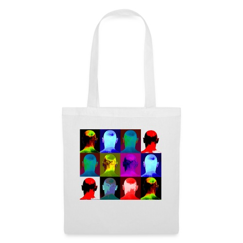 Man You Never Knew - 12 heads - Tote Bag