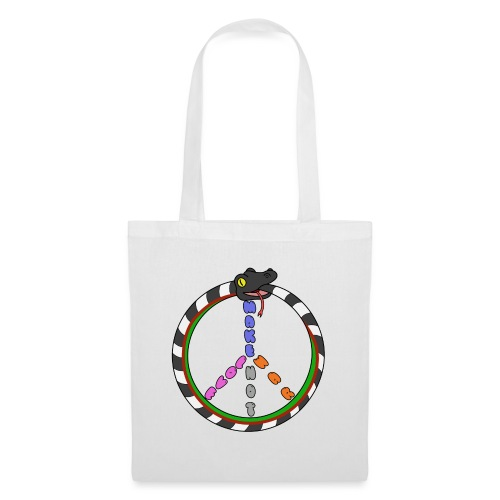 Bill Snakespeare Peace and Love - Tote Bag