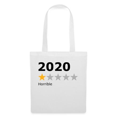 2020 horrible - Sac en tissu