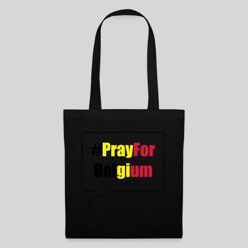 #PrayForBelgium - Sac en tissu