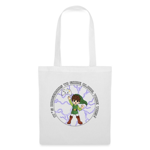 Dangerous To Game Alone - Tote Bag