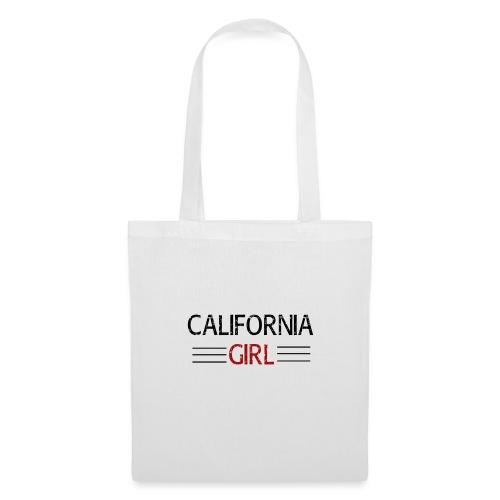 california girl - Stoffbeutel