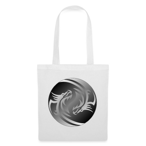 Yin Yang Dragon - Tote Bag